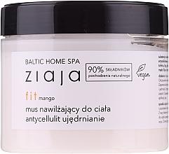 "Profumi e cosmetici Mousse corpo idratante ""Mango"" - Ziaja Baltic Home Spa FIT Mango Moisturizing Body Mousse"