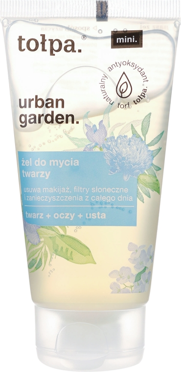 Gel detergente - Tolpa Urban Garden Face Gel Cleanser