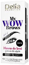 Profumi e cosmetici Hennè per sopracciglia - Delia My Wow Brows