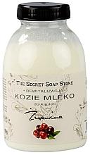 """Profumi e cosmetici Latte da bagno al latte di capra """"Mirtillo"""" - The Secret Soap Store Cranberry Goat Milk"""