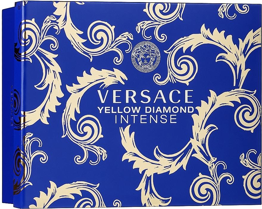 Versace Yellow Diamond Intense - Set (edp/50ml + b/lot/50ml + sh/gel/50ml)