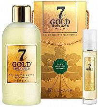 Profumi e cosmetici Luxana Seven Gold - Set (edt/1000ml + edt/50ml)