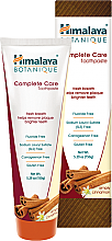 Profumi e cosmetici Dentifricio bio alla cannella - Himalaya Herbals Botanique Complete Care Toothpaste Simply Cinnamon
