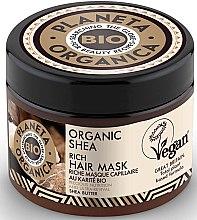 Profumi e cosmetici Maschera nutriente per capelli - Planeta Organica Organic Shea Rich Hair Mask