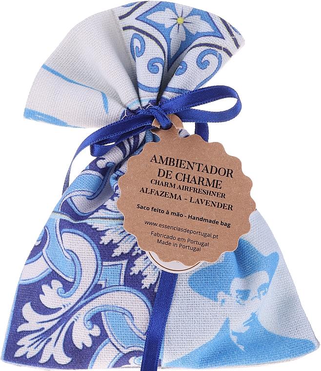 Pachetto profumato, bianco-blu, lavanda - Essencias De Portugal Tradition Charm Air Freshener — foto N1