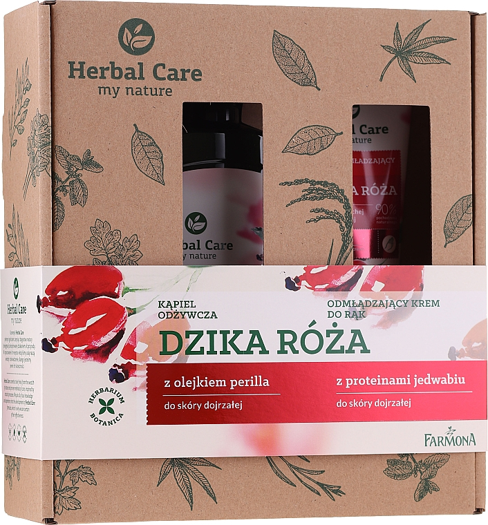 Set - Farmona Herbal Care (milk/500ml + h/cr/100ml)