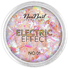 Profumi e cosmetici Glitter per il design delle unghie - NeoNail Professional Electric Effect Flakes
