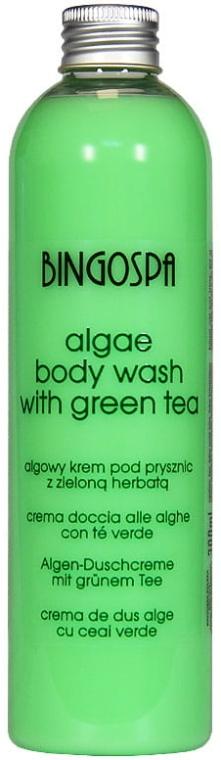 "Gel doccia ""Alga marina"" - BingoSpa Algae Energizing Body Wash Whit Green Tea"