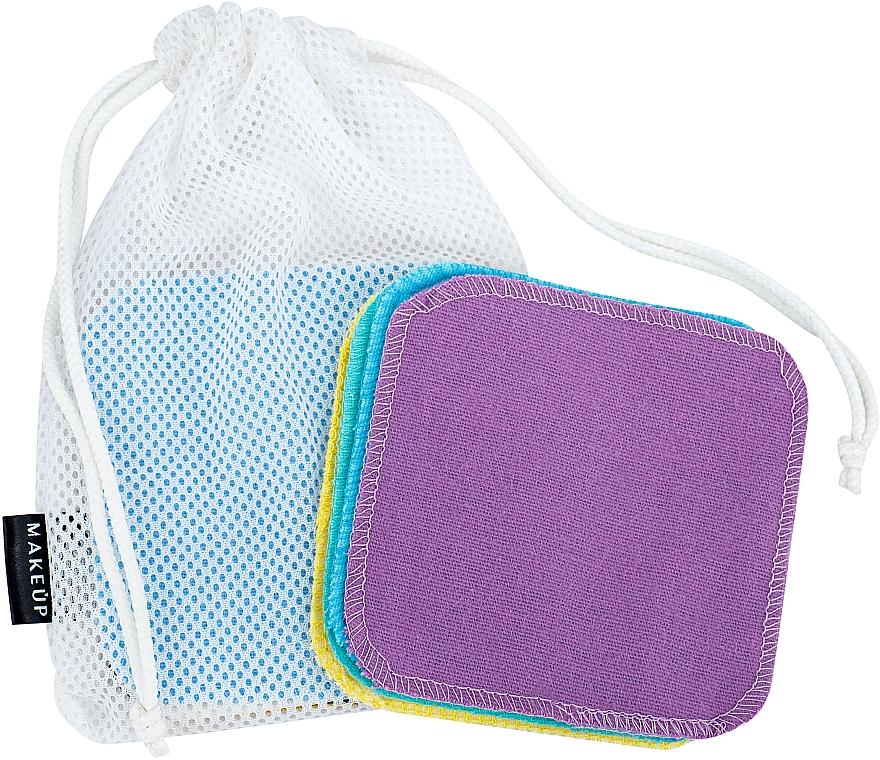 """Spugne struccanti riutilizzabili in sacchetto lavabile """"ToFace"""" - Makeup Remover Sponge Set Multicolour & Reusable"""