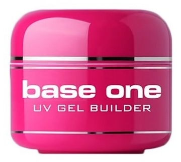Gel per le unghie - Silcare Base One Bianco W3 Extra