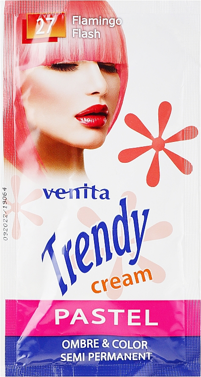 Crema colorante - Venita Trendy Color Cream (Sachet)