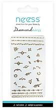 Profumi e cosmetici Adesivi per nail art, 3712 - Neess Diamondneess