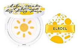 Profumi e cosmetici Protezione solare SPF 50+ in formato cushion - Elroel Pang Pang Big Sun Cushion SPF 50+
