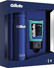 Profumi e cosmetici Set - Gillette (ash/bal/75ml + sh/gel/200ml)