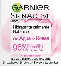 Profumi e cosmetici Crema idaratante e lenitiva - Garnier Skin Active Botanic Soothing Moisturizing Cream