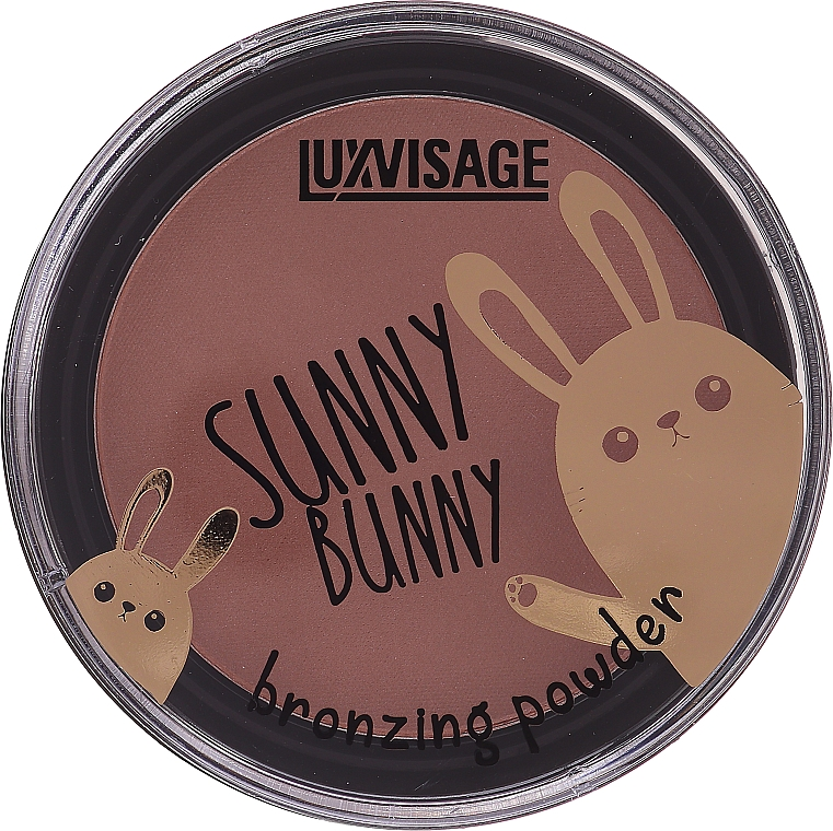 Cipria-bronzer - Luxvisage Sunny Bunny Bronzing Powder
