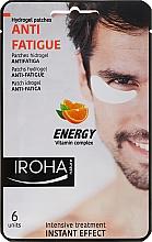 Profumi e cosmetici Patch sotto gli occhi - Iroha Nature Anti-Fatigue Energy Vitamin Complex