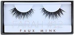 Profumi e cosmetici Ciglia finte №12 - Huda Beauty Faux Mink Lash 12