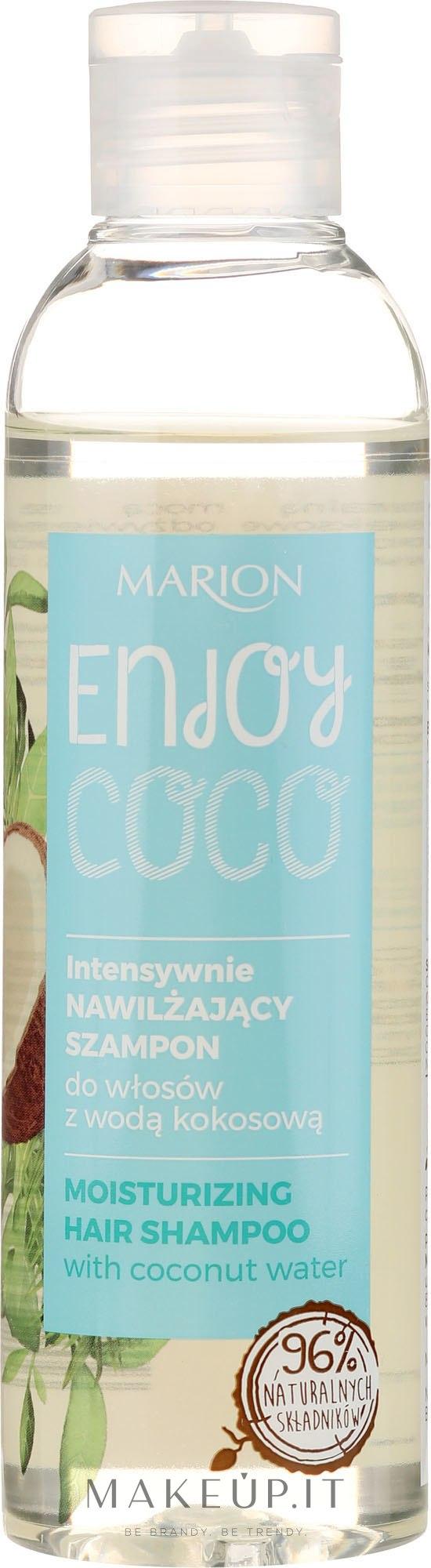 Shampoo idratante intensivo con acqua di cocco - Marion Enjoy Coco Intensive Moisturizing Shampoo — foto 200 ml