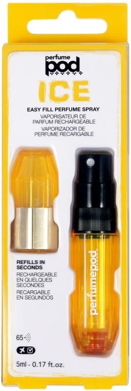 Atomizer - Travalo Ice Easy Fill Yellow Perfume Spray — foto N1