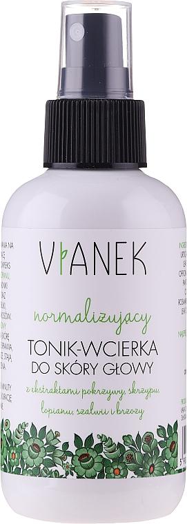 Tonico normalizzante per il cuoio capelluto - Vianek Normalizing Hair Tonic