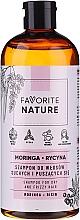 Profumi e cosmetici Shampoo per capelli secchi e ricci - Favorite Nature Shampoo For Dry And Frizzy Hair Moringa & Ricin