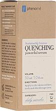 Profumi e cosmetici Siero viso idratante profondo - Phenome Quenching Powerful Serum