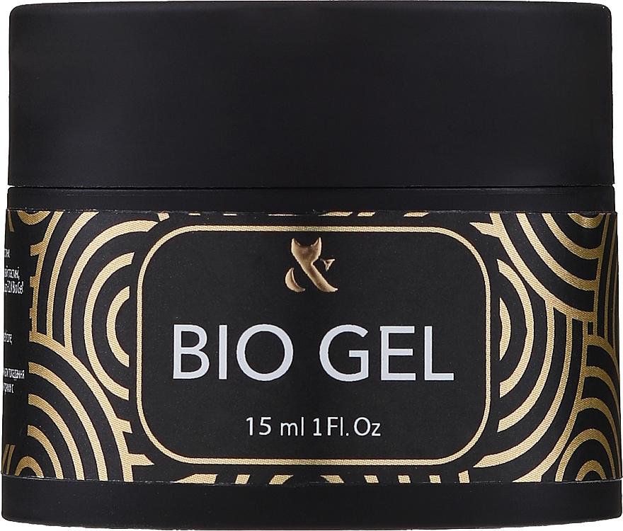 Bio-gel unghie trasparente - F.o.x Bio Gel 3 in 1 Base Top Builder