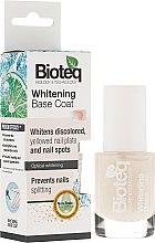 Profumi e cosmetici Base sbiancamento per unghie - Bioteq Whitening Base Coat