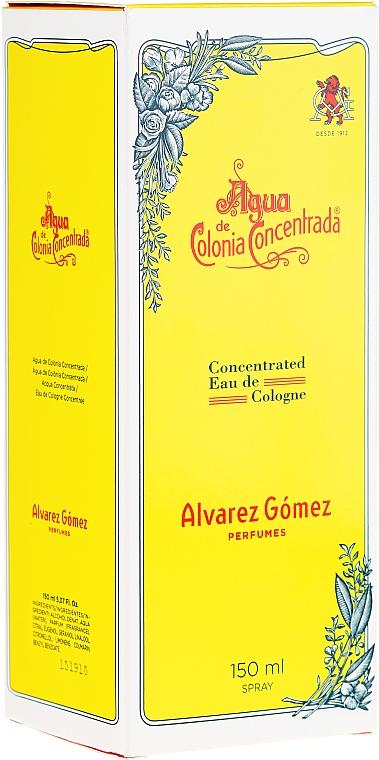 Alvarez Gomez Agua De Colonia Concentrada - Colonia — foto N2