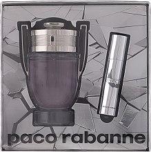 Paco Rabanne Invictus - Set (edt/100ml + edt/mini/10ml) — foto N1