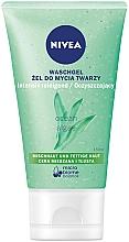 Profumi e cosmetici Gel detergente pelle grassa - Nivea Aqua Effect