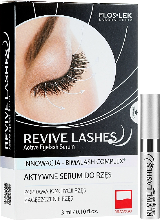 Siero per la crescita delle ciglia - Floslek Revive Lashes Eyelash Enhancing Serum