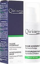 Profumi e cosmetici Balsamo viso idratante da uomo - Qiriness Men Moisturizing Balm