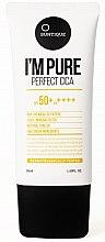 Profumi e cosmetici Crema solare per pelle sensibile - Suntique I'm Pure Perfect Cica SPF 50+ / PA +++