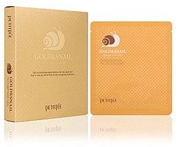 Profumi e cosmetici Maschera idrogel idratante - Petitfee & Koelf Gold & Snail Hydrogel Mask Pack