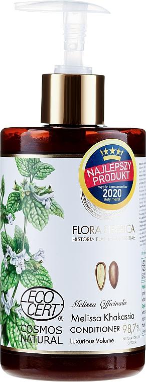 Balsamo per capelli fini privi di volume - Natura Siberica Flora Siberica Melissa Khakassia Hair Conditioner