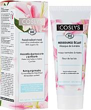 Profumi e cosmetici Maschera viso con estratto di giglio - Coslys Facial Care Radiant Mask With Lily Extract