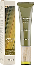 Profumi e cosmetici Crema per contorno occhi con estratto di radice di lino neozelandese - The Saem Urban Eco Harakeke Root Eye Cream Tube Type