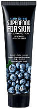 Profumi e cosmetici Crema mani e unghie ai mirtilli - Superfood For Skin Hand Cream Blueberry