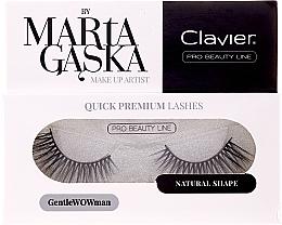 Profumi e cosmetici Ciglia finte - Clavier Quick Premium Lashes GentleWOWman 803