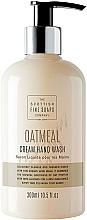 Profumi e cosmetici Sapone liquido per mani - Scottish Fine Soaps Oatmeal Cream Hand Wash