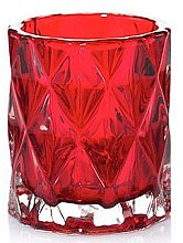 Profumi e cosmetici Portacandele, rosso - Yankee Candle Red Nordic Frosted