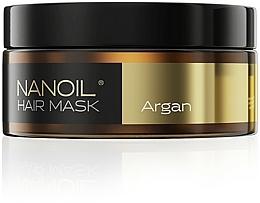 Profumi e cosmetici Maschera per capelli all'olio di argan - Nanoil Argan Hair Mask