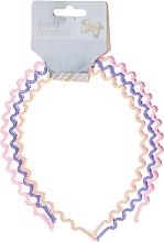 """Profumi e cosmetici Cerchio per capelli """"Collezione Beauty"""", multicolore, 27345 - Top Choice Hair Headbands"""