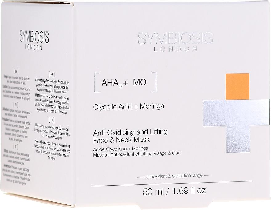 Maschera lifting antiossidante viso & collo - Symbiosis London Anti-oxidising And Lifting Face & Neck Mask