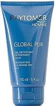 Profumi e cosmetici Gel detergente purificante, per uomo - Phytomer Homme Global Pur Detoxifying Cleansing Gel