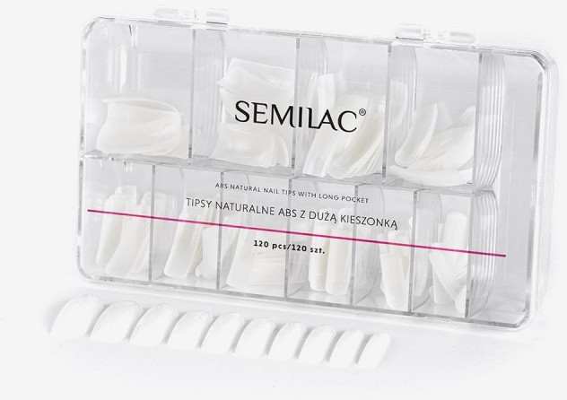 Unghie finte - Semilac Natural Tips Box