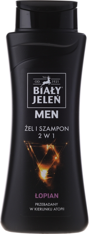 Gel-shampoo ipoallergenico 2in1 - Bialy Jelen Hypoallergenic Gel & Shampoo 2in1