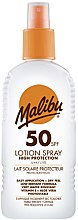 Profumi e cosmetici Spray solare corpo - Malibu Sun Lotion Spray High Protection Water Resistant SPF 50